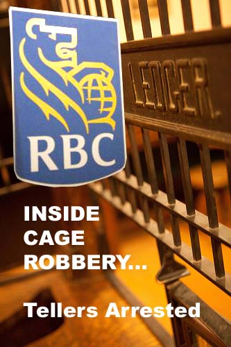 Two Royal Bank Palmdale Branch Cage Tellers Arrested