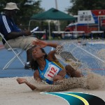 Bianca Stuart's record breaking, gold medal, long jump performance and Team Bahamas' success at the 2011 Sr. CAC Championships