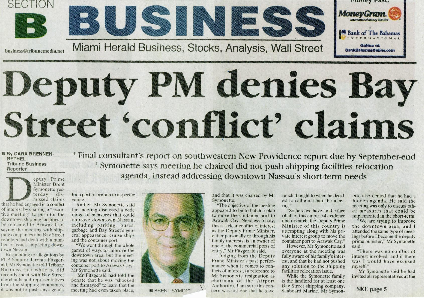 International Business Newspaper Articles International