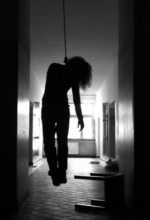 Hanged by Her Neck http://www.bahamaspress.com/2012/10/17/mother-of-two-commits-suicide-woman-found-dead-with-sheet-around-neck-at-3am-today/