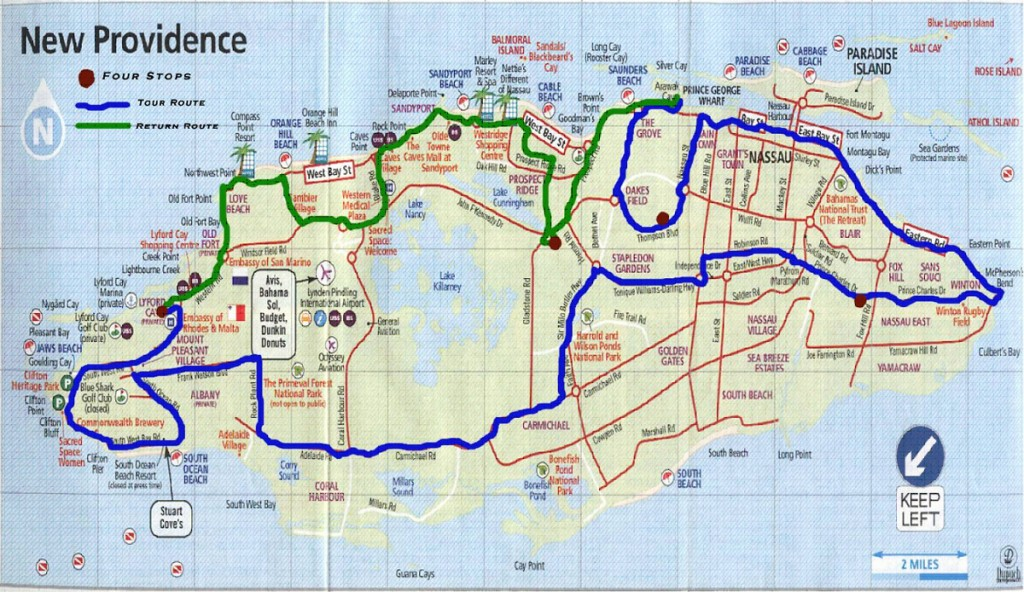 map of new providence bnhspinecom
